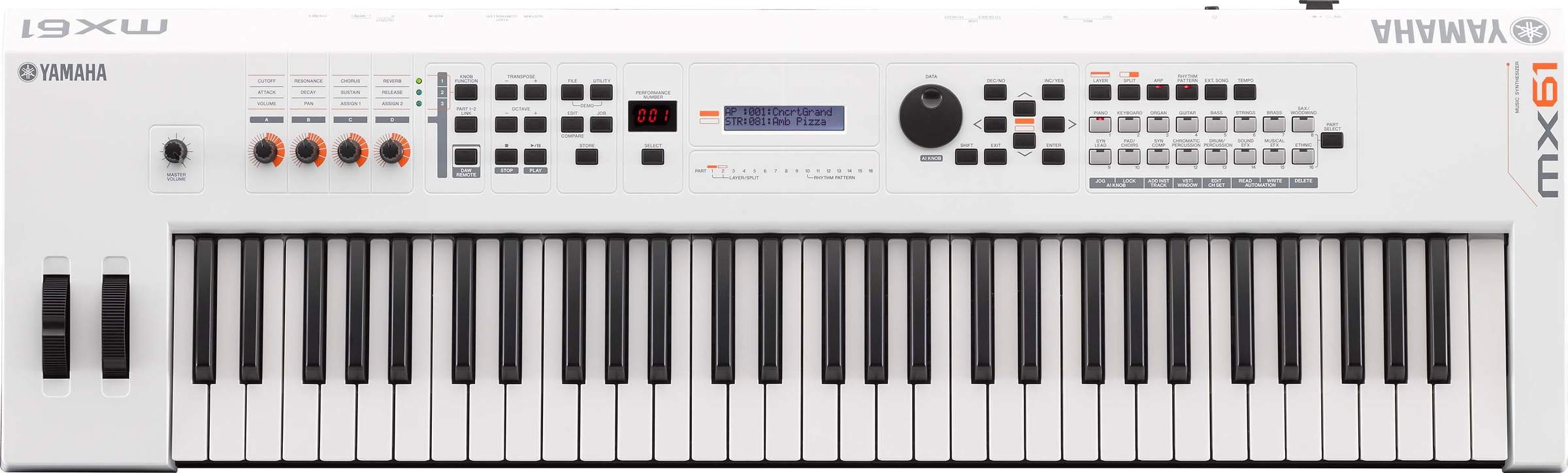 Yamaha Mx Keyboard