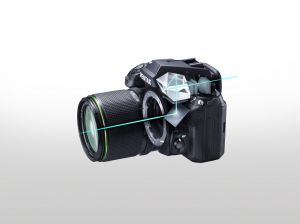 Pentaprism Viewfinder for 100% Field of View