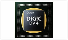 Canon XA20 & XA25 Digital Video Camera Key Feature - Digic4