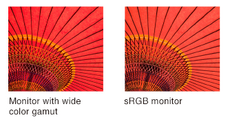 AdobeRGB vs sRGB